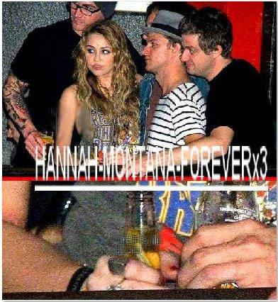 Et Miley, elle boit elle ?