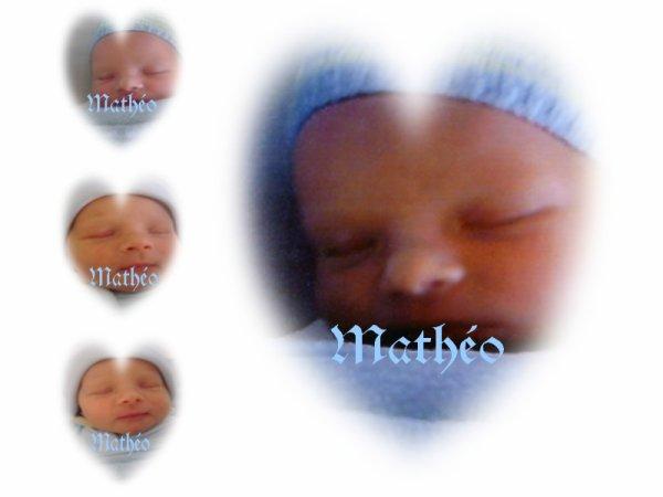 Mon accouchement pour Mathéo