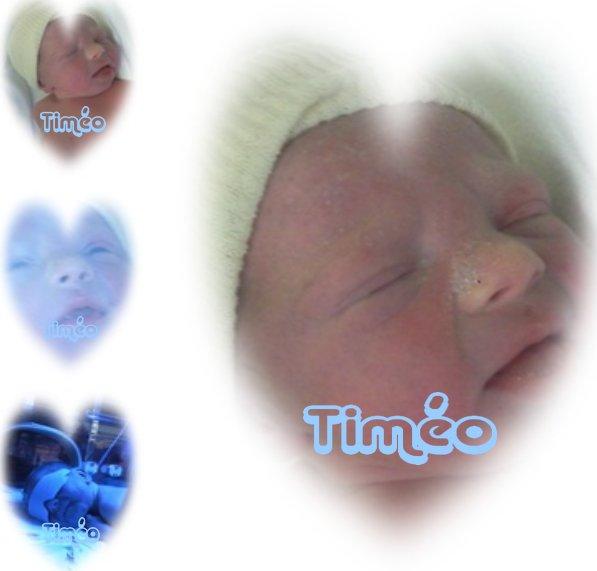 Mon accouchement pour Timéo