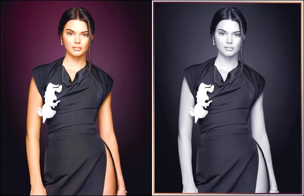 ▬Kendall J.pour la promotion de la saison 14 de «Keeping Up With The Kardashians »!