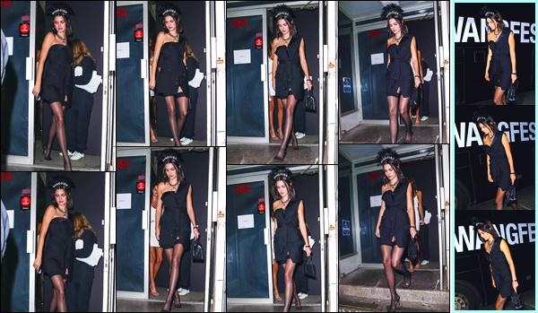 - '-09/09/17-' ◘Notre belle mannequin s'est rendue à la Fashion Week pour y défiler pour Alexander Wang ! Encore une fois la belle a défilé pour la Fashion Week se déroulant à New-York. Côté tenue je lui accorde un TOP, quel est ton avis ? -
