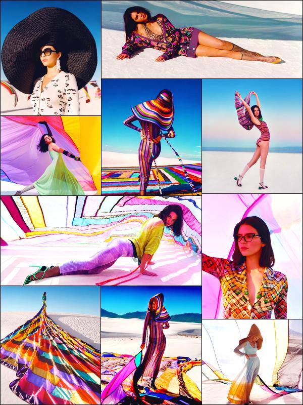 ▬Découvrez la belleKendall Jennerpour la collection printemps/été2018 de Missoni!