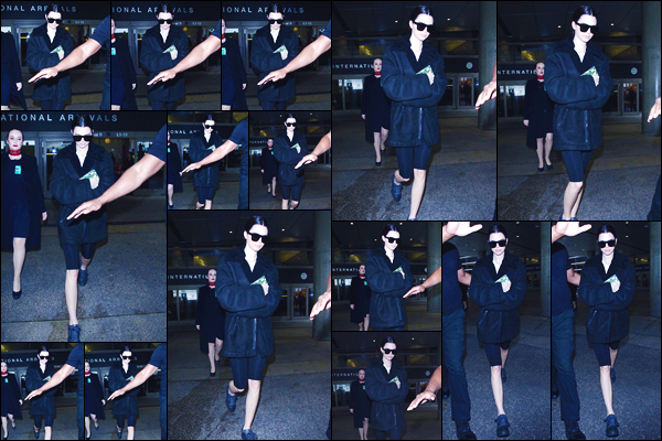 - '-21/03/18-' ◘Kendall Jenner a été photographiée par les paparazzis alors qu'elle arrivait à l'aéroport de LAX. C'est dans une tenue plutôt décontractée, que nous retrouvons notre Kendall aujourd'hui. Pour ma part je lui donne un FLOP. Ton avis ? -