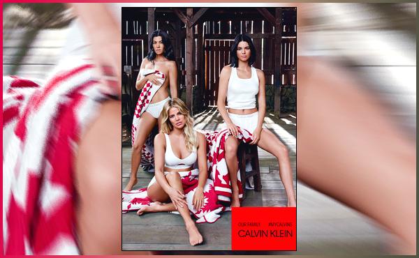 ▬Découvrez la famille de notreKendall Jennerpour la campagne2018 de Calvin Klein!