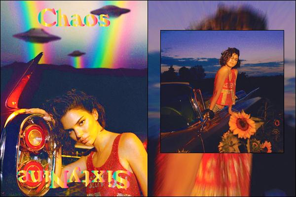 ▬Découvrez deux magnifiques clichés de Kendall pour le magazine deChaos SixtyNine !