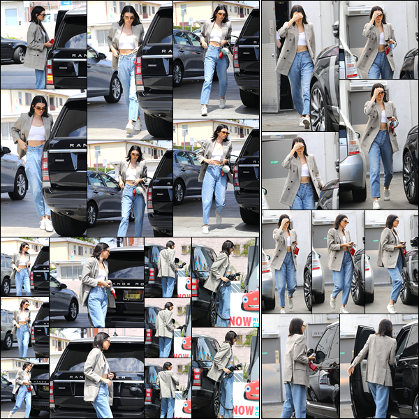 - '-15/07/17-' ◘Kendall Jenner a été photographiée alors qu'elle se trouvait à une station essence, Beverly Hills. Un peu plus tard dans la journée, Kendall a été aperçue alors qu'elle venait de quitter un salon de coiffure également dans Beverly Hills ! -