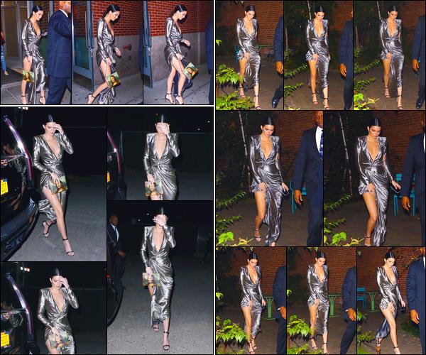 - '-23/10/17-' ◘Kendall Jenner a été photographiée lorsqu'elle quittait l'appartement de Kanye West dans Soho. Un peu plus tard, elle a été vue se rendant puis quittant un événement qui avait lieu dans New-York. Un énorme top pour sa tenue, jolie ! -
