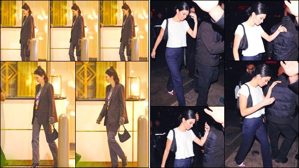 - '-11/03/18-' ◘Notre starlette préférée a été vue alors qu'elle quittait son hôtel se trouvant dans Beverly Hills. La veille au soir, Kendall a été photographiée alors qu'elle quittait le restaurantBeauty & Essex, se situant à Los Angeles. C'est un flop ! -