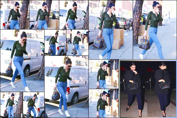 - '-06/12/17-' ◘Kendall Jenner &Kourtney Kardashian ont été aperçues alors qu'elle quittait le Rage Ground ! Toujours dans Los Angeles, cette fois-ci notre belle a été vue alors qu'elle quittait le show privé deDave Chapelle. Je lui accorde un top. -
