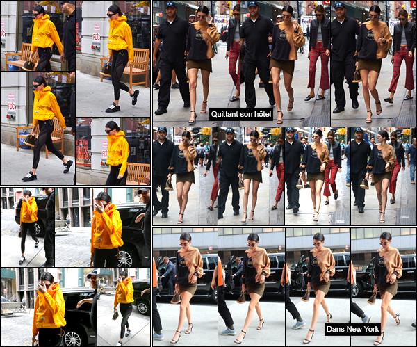 - '-27/07/17-' ◘Kendall Jenner a été aperçue alors qu'elle quittait la salle de sport « Gotham Gym », Manhattan. Un peu plus tard, notre belle mannequin a été photographiée alors qu'elle venait d'arriver à l'hôtel « The Mercer ». Je lui accorde un flop ! -