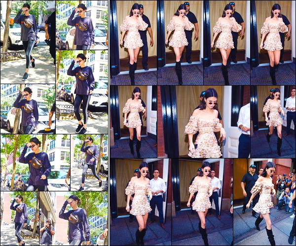 - '-01/08/17-' ◘Kendall Jenner a été photographiée alors qu'elle se rendait à son cours de gym, à Manhattan. En fin de journée elle a de nouveau été aperçue alors qu'elle quittait son hôtel pour aller auMetropolis Vintage. Je lui accorde un top ! -