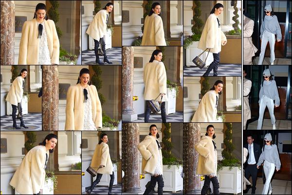 - 03/05/17 : Kendall N. Jenner a été vue alors qu'elle se trouvait être sur le set d'un photoshoot, dans N-Y. Le soir, Kendall a été photographiée alors qu'elle venait de quitter l'appartement de son ami Daniel Chetrit. Je lui accorde un léger bof ! -