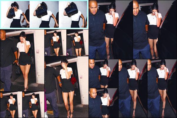 - '-24/08/17-' ◘En ce début de soirée Kendall a été aperçue arrivant au nightclubDelilah, à West Hollywood. Pour terminer cette belle nuit elle a ensuite été photographiée quittant le même club. Côté tenue, j'accorde un très joli top à la belle ! -