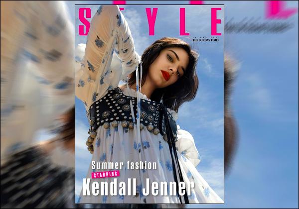 ▬ Notre superbe mannequin a posée pour le célèbre magazineThe Sunday Times Style!