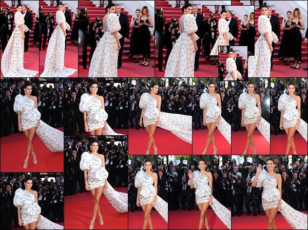 - 20/05/17 : Kendall Jenner assistait à la première du «'120 Beats Per Minute » durant le festival de Cannes. C'est dans une robe blanche que nous retrouvons Kendall. Je suis assez mitigée concernant cette robe ci qui réunit à mon goût top et flop. -