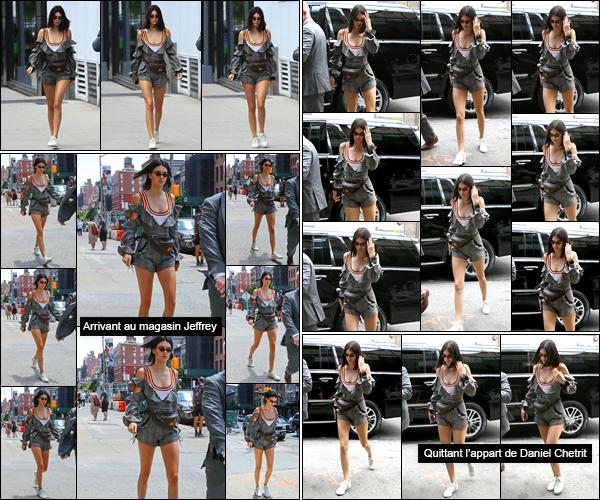 - 01/06/17 : Kendall Jenner a été aperçue alors qu'elle se trouvait être dans les célèbres rues de Manhattan. Journée plutôt active pour notre belle mannequin qui n'a cesser de se déplacer. Je lui accorde pour le coup un énorme top, j'aime ce look. -
