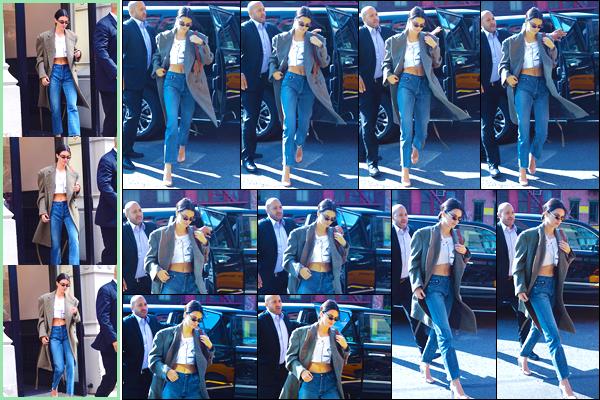 - '-07/09/17-' ◘Kendall a été aperçue quittant son hôtel à Manhattan, puis arrivant au Alexander Wang Office. Plus tard elle a été photographiée quittant les mêmes lieux. Pour terminer la mannequin a été vue retournant à son hôtel The Bowery ! -
