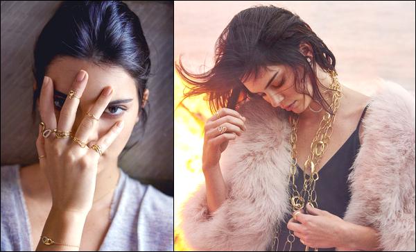 ▬Découvrezles deux premiers clichés de Kendall pour la célèbre marqueIppolia Jewelry !