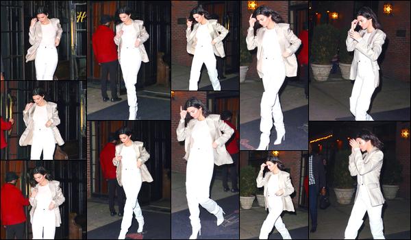 - '-20/11/17-' ◘Notre superbe Kendall a été photographiée arrivant au Bowery Hotel, se trouvant à Manhattan. Son séjour à Londres étant terminé, voilà que la belle brune est de retour à Manhattan. Côté tenue je lui accorde un joli TOP ! Et toi ? -