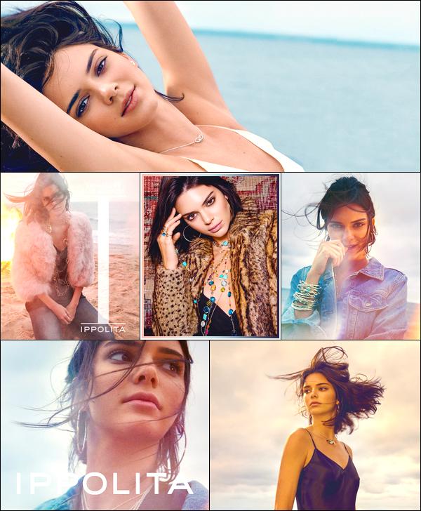 ▬Kendall Jennera posée pour la célèbre marqueIppolia Jewelry, pour l'automne 2017 !