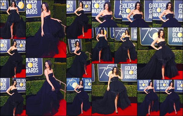 - '-07/01/18-' ◘Kendall Jenner était présente au75th Annual Golden Globe Awards se déroulant à Beverly Hills. Par la suite notre belle brunette s'est rendue à l'After Party de l'événement, où elle a notamment été photographiée aux côtés Hailey B ! -
