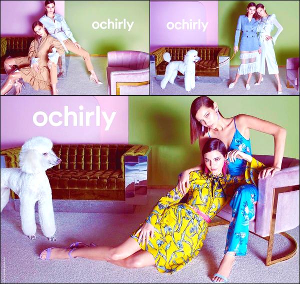 ▬Kendall J.a posé aux côtés de Bella Hadid pour la marqueOchirly - SS18 Collection !