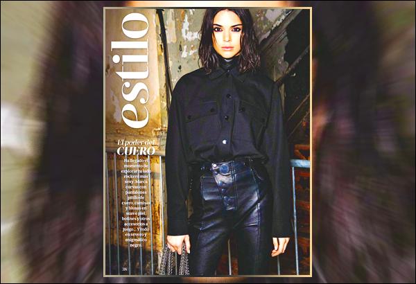 ▬Découvrez la couverture de Kendall pour le magazineMujer Hoy, qui paraîtra en décembre !