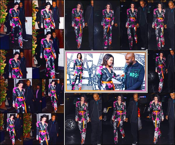 - '-11/02/18-' ◘Kendall Jenner a été photographiée lorsqu'elle quittait l'hôtel « The Mercer » situé à Manhattan. Plus tard, notre mannequin a été vue à la galerie d'art «Taglialatella » également à New-York. Elle était magnifique, un gigantesque top. -