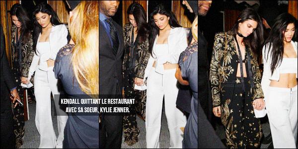 - 28/04/16 - Kendall Jenner a été photographiée, alors, qu'elle arrivait au The Nice Guy, dans West Hollywood.La jeune mannequin été donc accompagnée de son amie la mannequin Gigi Hadid. J'aime beaucoup la tenue de Kendall J., c'est donc un jolie top !-