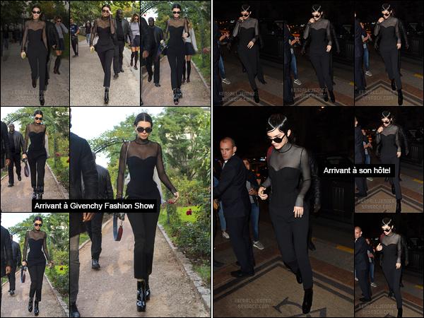 ●●Récapitulatif part. 2 de la journée du 12 octobre pour notre superbe Kendall Jenner.