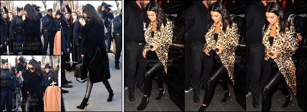 - 30/11/16 : Kendall Jenner a été photographiée arrivant au « Grand Palais » dans notre Capitale, Paris. Peu après, elle a été vue arrivant au restaurant Ferdi. Puis dans la soirée, sur le red carpet de l'after party du Victoria Secret Show ! -