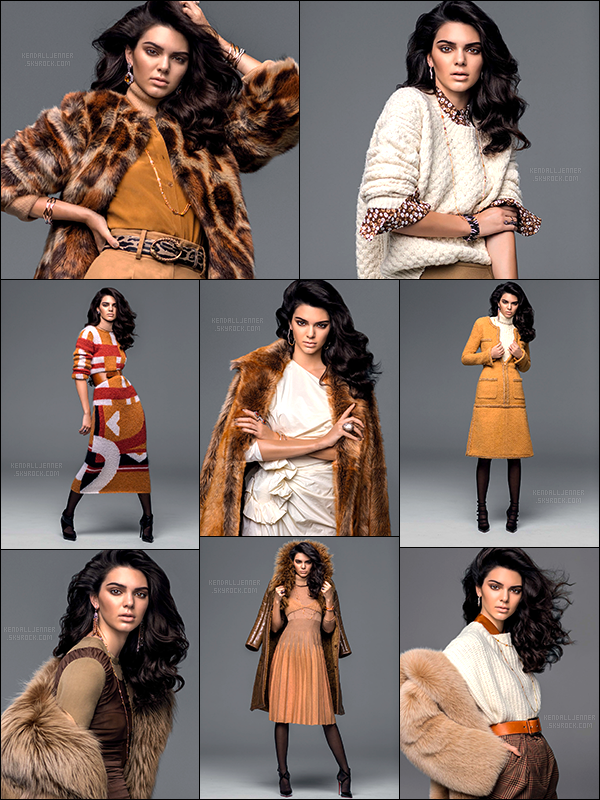 ▬Découvrez le photoshoot de Kendall pour le magazine« Vogue Turkey »dont elle fait la couverture, top !