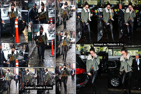 - 17/01/17: Aujourd'hui notre belle Kendall J. a été photographiée se baladant dans les rues de New-York ! Il s'avère qu'aujourd'hui la belle mannequin se sent d'humeur à se cacher vis-à-vis de l'appareil photo. Côté tenue je lui accorde un top. -