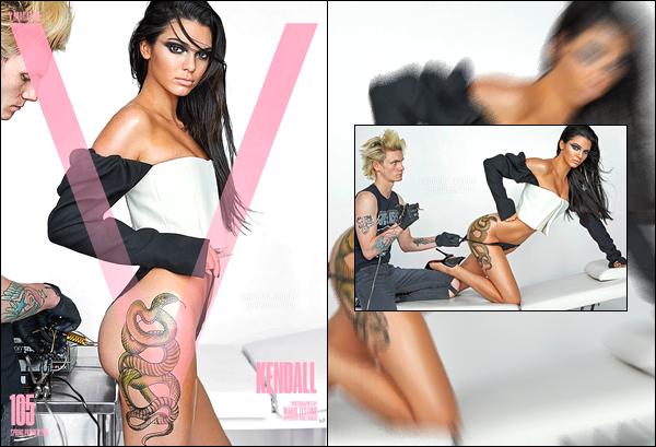 ▬Découvrez les clichés de Kendall J. pour le magazine V Magazine, qui paraitra au mois de Janvier 2017 !
