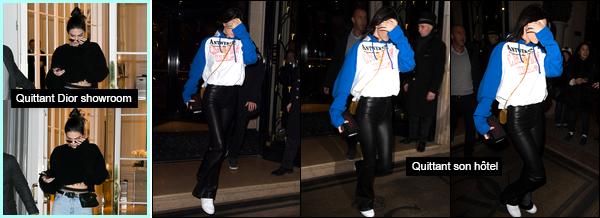 - 22/01/17: Pour commencer cette journée notre ravissante américaine a été vue au magasin Flea, à Paris. Elle a été par la suite photographiée alors qu'elle se baladait dans les rues de Paris. Côté tenue je lui accorde un super TOP en ce jour ! -