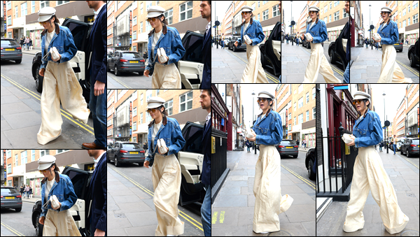 - 19/02/17: Lors de son séjour à Londres, notre belle a été aperçue se baladant dans les rues de la ville ! Côté tenue je dois avouer que je ne suis absolument pas fan de ce style, mais je trouve que cela va superbement bien à Kendall, top. -