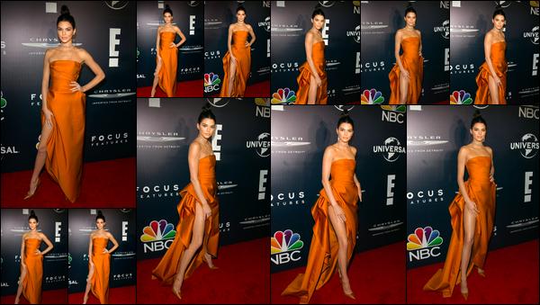 - 08/01/17: Kendall était présente à la cérémonie des 74th Annual Post-Golden Globes Party, Warner Bros. La jeune mannequin était présente aux côtés de sa jeune s½ur lors de cette soirée. Je lui accorde un TOP pour cette magnifique robe! -