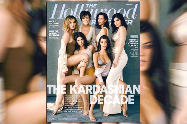 ▬Découvrez ci-dessous une couverture de notre mannequin pour le magazine Hollywood Reporter!