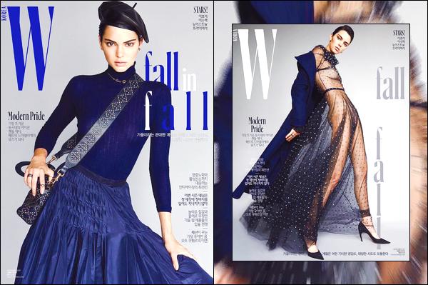 ▬Kendall Jennera posée pour le magazine W Korea, elle fera la couverture du mois de Septembre!