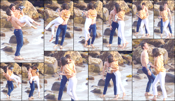 - '-07/11/17-' ◘Kendall Jenner a été photographiée alors qu'elle était sur le set d'un photoshoot situé à Malibu. C'est ainsi sur une plage de Malibu que nous retrouvons notre charmante Kendall en bonne compagnie. Pour ce photoshoot c'est un top. -