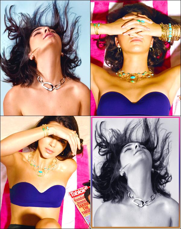 ▬Découvrez trois clichés de Kendall pour la collection printemps 2018 deIppolita Jewelry !
