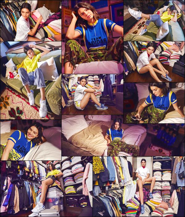 ▬Découvrez un nouveau shoot deKendall J.pour Adidas Originals - Arkyn Collection!