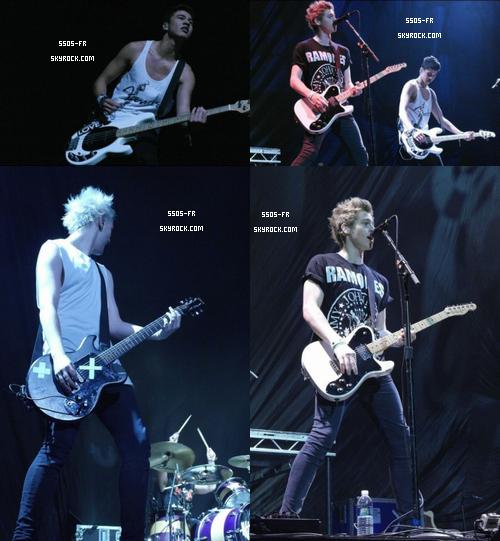 Première partie du TMH Tour (one direction) a Auburn Hills, Michigan, le 12 juillet 2013