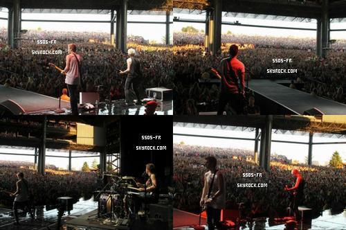 Première partie du TMH Tour (one direction) au Tinley Park, Illinois, le 13 juillet 2013