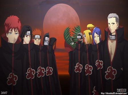 Chappitre 8:Bienvenu à l'Akatsuki.