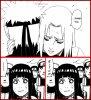 Derrière le sourire d'Hinata.