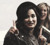Demi Lovato à une interview (toujours dans la joie et la bonne humeur!:) )
