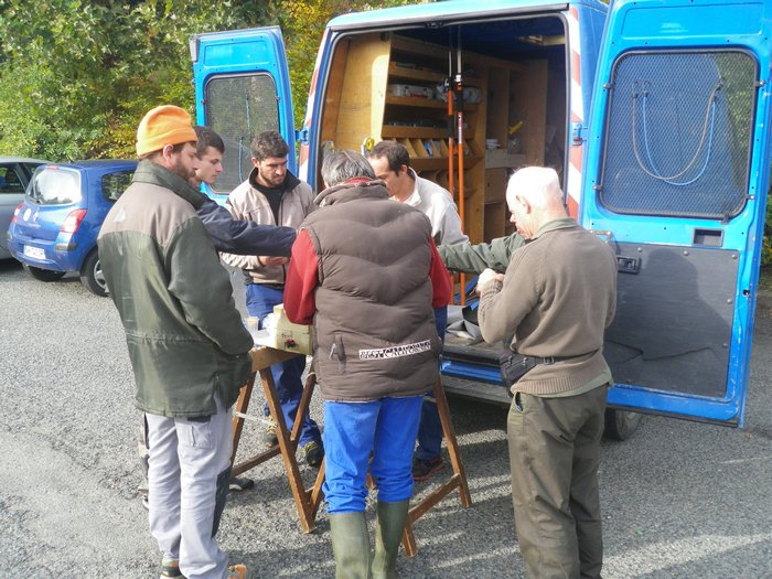 Samedi 24 Octobre 2015 - Second chantier d'envergure sur la Brévenne
