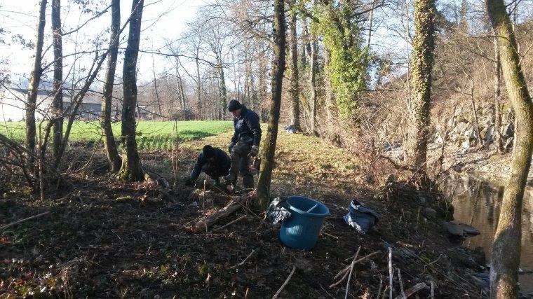 25 Février 2017 : Nettoyage de rivière