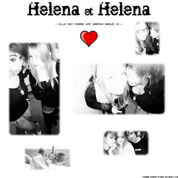 Peut-être que ce sont les regrets qui me rapprochent de toi aujourd'hui ? ♥ . Helena&Helena